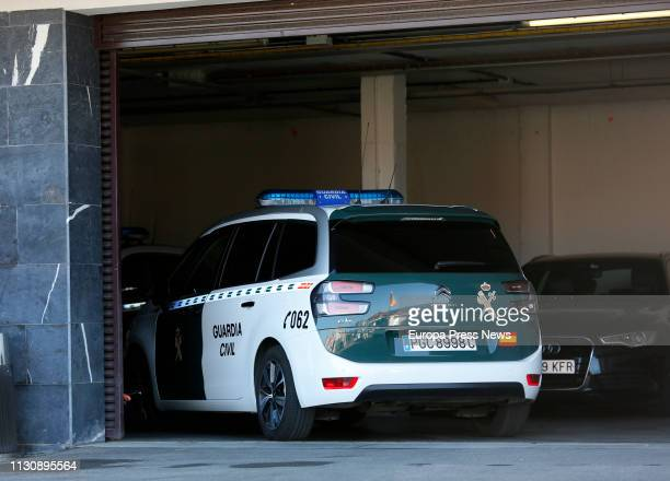 The Guardia Civil search the residence of Pedro Luis Nieva Abaigar alleged instigator of the murder of the councillor of Izquierda Unida party in...
