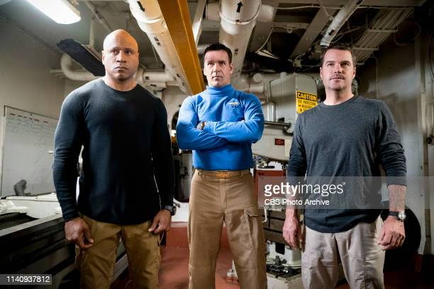 The Guardian Pictured LL COOL J David James Elliott and Chris O'Donnell Callen and Sam travel to the USS Allegiance in the Persian Gulf to work with...