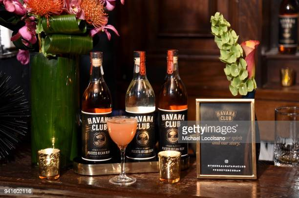The Guava Daiquiri on display at an immersive theatrical experience 'Amparo' presented by HAVANA CLUB Rum on April 3 2018 in New York City