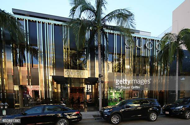 The Gucci Store on January 28 2017 in Beverly Hills California