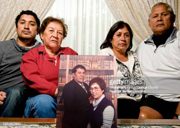The Guedea family gather around a 1979 photo of Fred and Sophie Guedea Fred Guedea was slain in 1983 and the killing remains unsoved February 11 will...