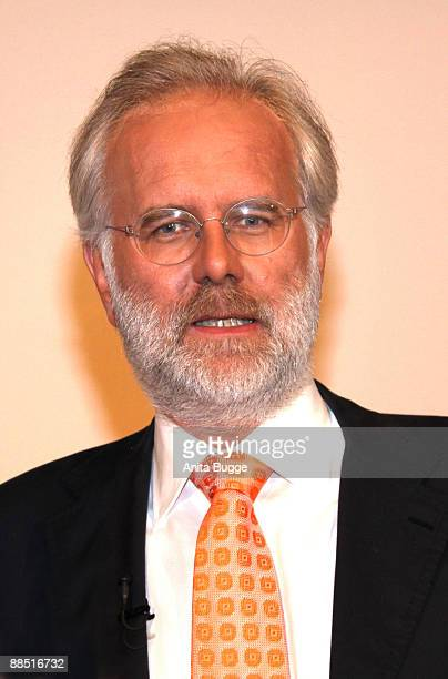 """The guest of honor of """"Satire Gipfel"""", Harald Schmidt, poses for the press on June 16, 2009 in Berlin, Germany."""