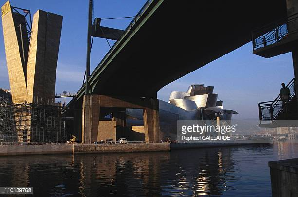 The Guggenheim museum in Bilbao, Spain in September, 1997.