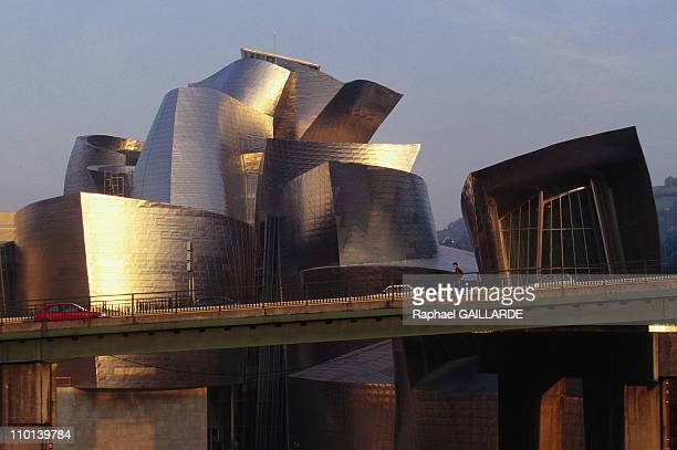 The Guggenheim museum in Bilbao Spain in September 1997