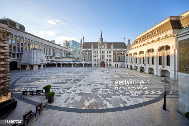 the guildhall london - historical geopolitical location stock photos and pictures