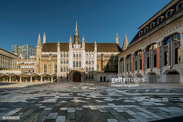 the guildhall london - guildhall london stock pictures, royalty-free photos & images