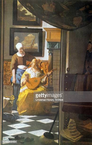 The Guitar Player is a 1672 painting by Jan Vermeer on display in Kenwood House London
