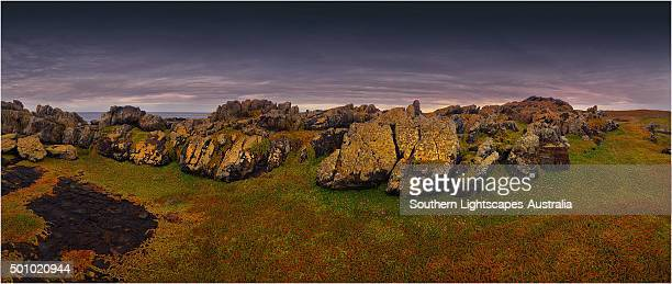 The Gulchway, a rugged and isolated part of the West coastline of King Island, Bass Strait, Tasmania.