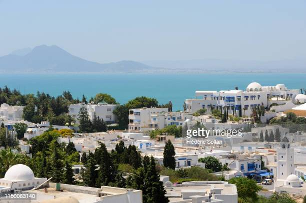 The gulf of Tunis on may 15 2015 in Tunis Tunisia