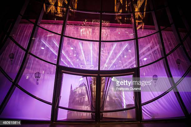 The Gustave Eiffel salon venue for Courvoisier Toast of Paris event at Eiffel Tower on September 21 2015 in Paris France
