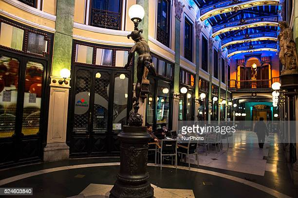 The Gutierrez passage is a beautiful shopping arcade realized in 1885 with the typical building area of nineteenthcentury Europe is a gathering area...