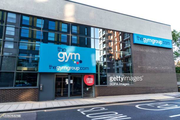 The Gym Group in Lewisham seen with shut doors Gyms indoors swimming pools are still in lockdown due to Covid19 crisis with no confirmed date as too...