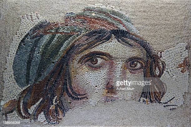 The Gypsy girl(GAIA) mosaic in Zeugma
