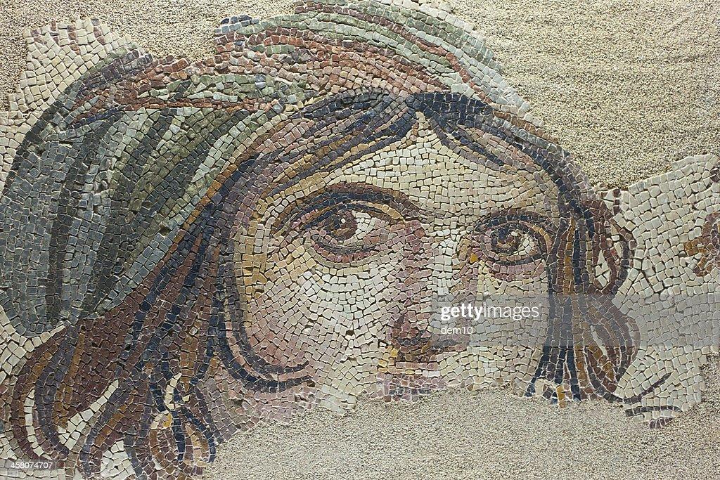 The Gypsy Girl Mosaic : Stock Photo