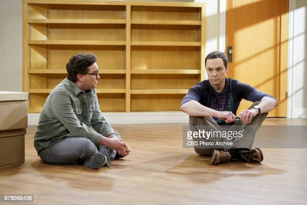 """The Gyroscopic Collapse"""" -- Pictured: Leonard Hofstadter and Sheldon Cooper . After Leonard, Sheldon and Wolowitz celebrate the completion of the top..."""