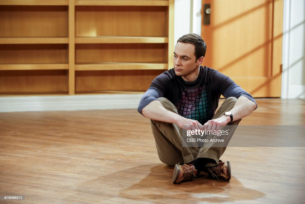 'The Gyroscopic Collapse' -- Pictured: Sheldon Cooper (Jim Parsons). After Leonard, Sheldon and Wolowitz celebrate the completion of the top secret air force project, they are met with an unpleasant surprise. Also, Amy is offered a summer position as a visiting researcher, on THE BIG BANG THEORY, Thursday, May 4 (8:00-8:31 PM, ET/PT), on the CBS Television Network.