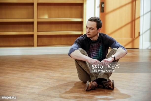 """The Gyroscopic Collapse"""" -- Pictured: Sheldon Cooper . After Leonard, Sheldon and Wolowitz celebrate the completion of the top secret air force..."""