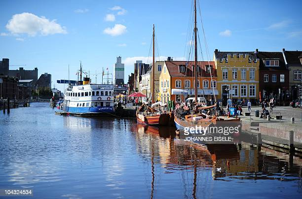 The habour of Husum is pictured on September 21 2010 in Husum northern Germany AFP PHOTO / JOHANNES EISELE