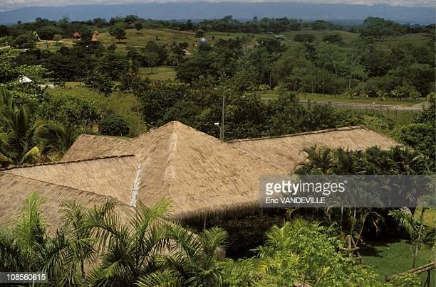 The hacienda of Pablo Escobar in Medellin Colombia on August 29th 1989