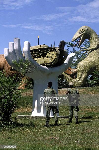 The Hacienda of Pablo Escobar to Medellin in Medellin Colombia on August 29th 1989