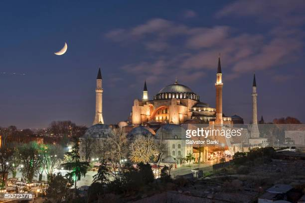 the hagia sophia - hagia sophia stock pictures, royalty-free photos & images