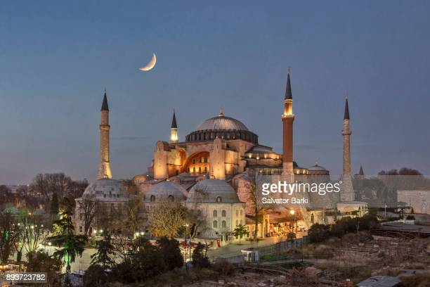 the hagia sophia - ottoman empire stock photos and pictures