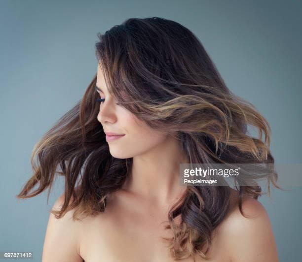 The hair of a goddess