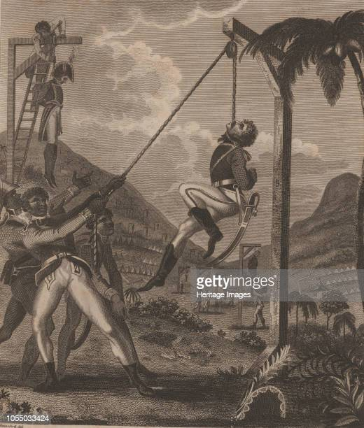The Haitian Revolution. Slave rebellion on the night of 21 August 1791, 1805. Private Collection. Artist Rainsford, Marcus .