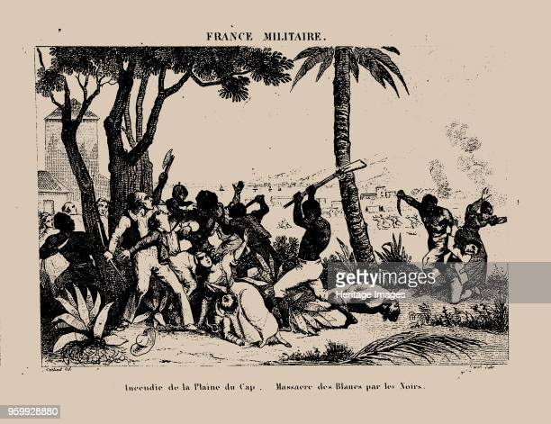 The Haitian Revolution Slave rebellion on the night of 21 August 1791 1833 Private Collection