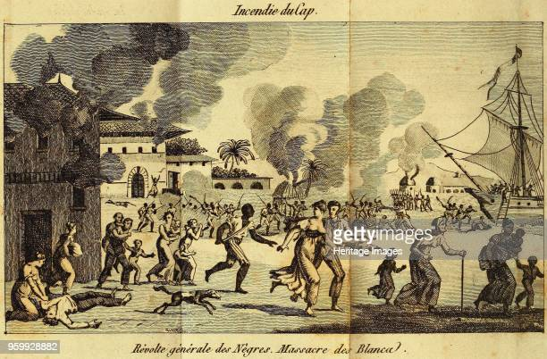 The Haitian Revolution Slave rebellion on the night of 21 August 1791 c 1815 Private Collection
