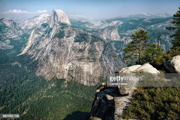 The Half Dome in Yosemite National Park, California.