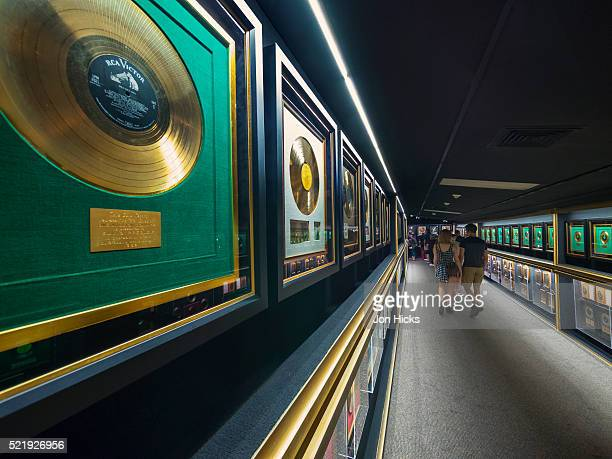 The Hall of Gold in Graceland, Memphis, Tennessee.
