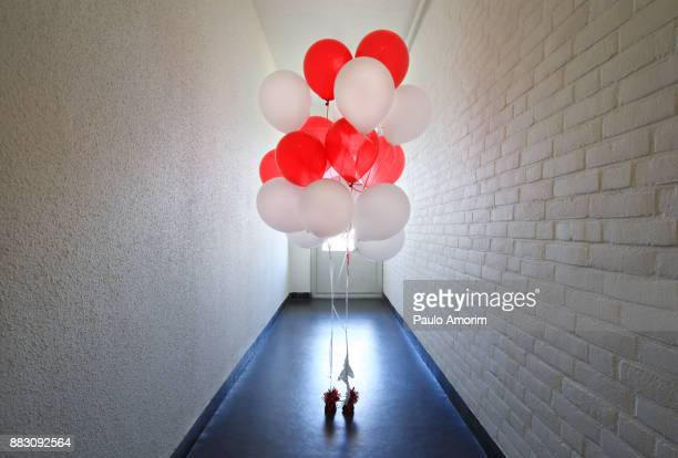 The hallway of the balloons
