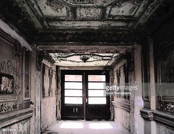 the hallway - east berlin stock pictures, royalty-free photos & images