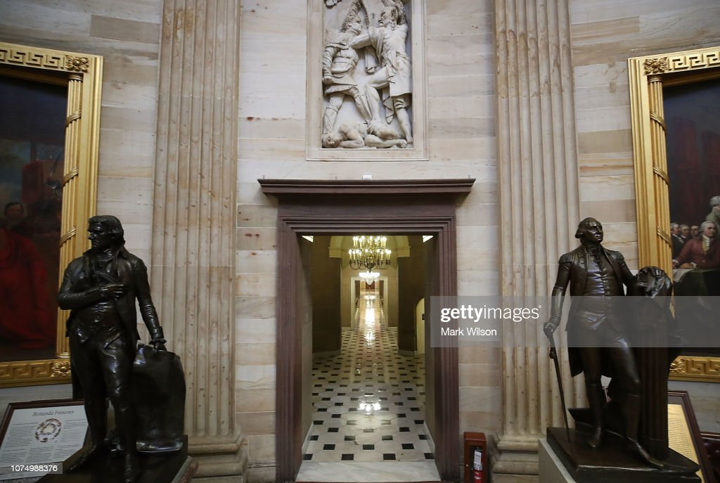 Scenes At the Capital During Partial Shutdown Before Congress Changes Hands : News Photo