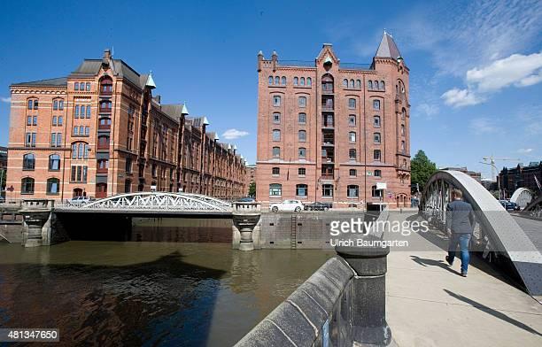 The Hamburg warehouse district since July 2015 UNESCO Heritage