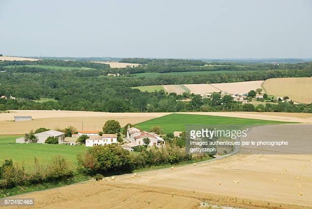The hamlets near Villebois