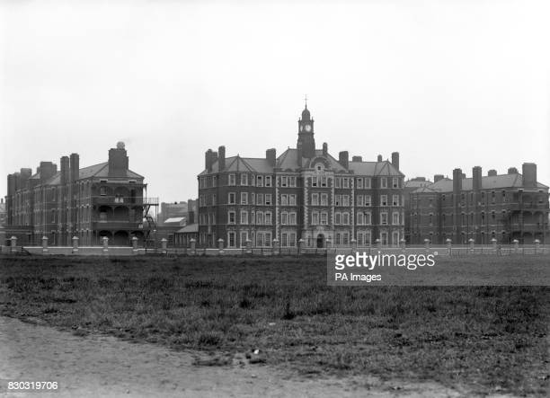 The Hammersmith Workhouse London c1900