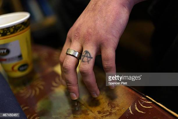 The hand of a heroin user is viewed on February 6 2014 in St Johnsbury Vermont Vermont Governor Peter Shumlin recently devoted his entire State of...