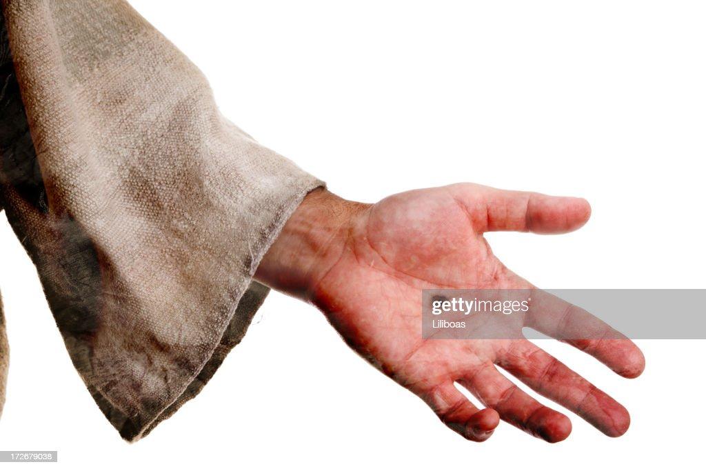 The Hand of Jesus (XL) : Stock Photo