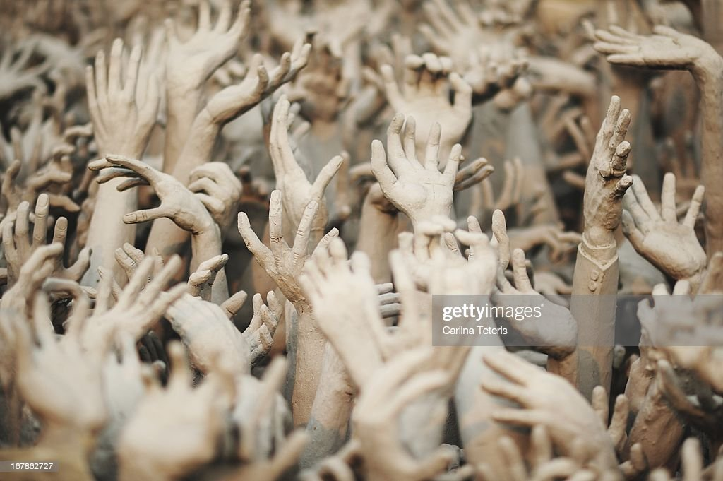 The Hands of Hell : Stock Photo