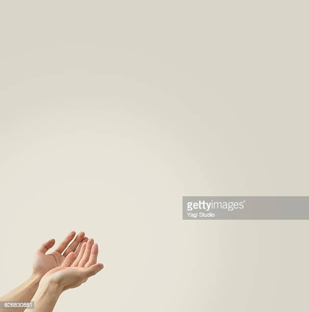 The hands of men