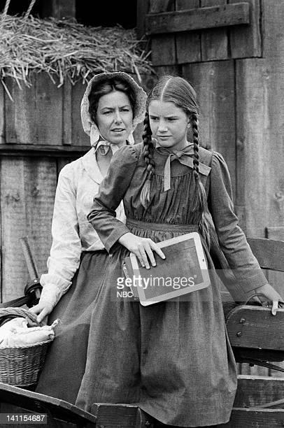"The Handyman"" Episode 4 -- Aired -- Pictured: Karen Grassle as Caroline Quiner Holbrook Ingalls, Melissa Gilbert as Laura Ingalls Wilder -- Photo by:..."