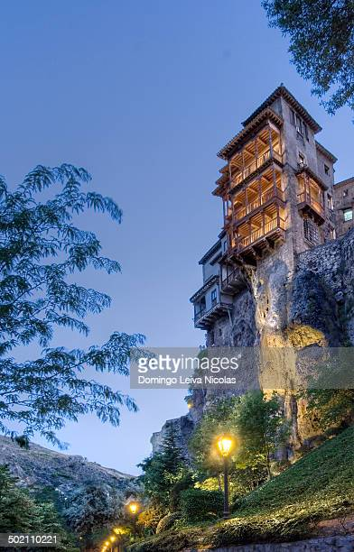 The hanging house in the city of Cuenca in the Castilla La Mancha region of central Spain.