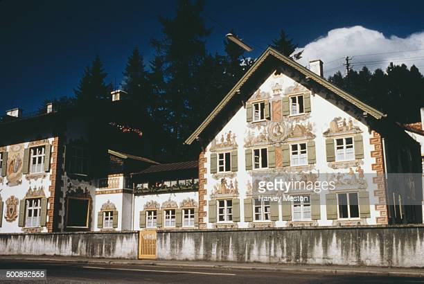 The Hansel and Gretel House in Oberammergau Germany circa 1960