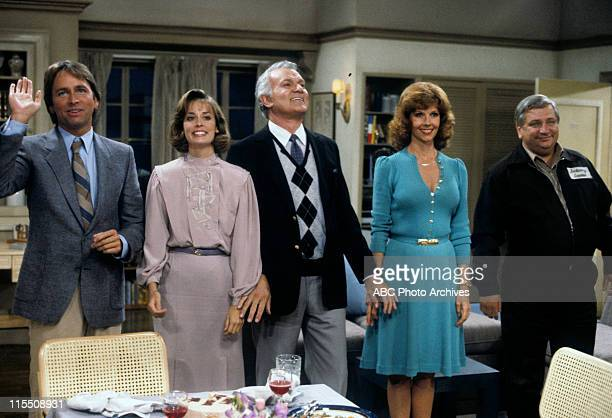 "The Happy Couple"" - Airdate: October 9, 1984. JOHN RITTER;MARY CADORETTE;ROBERT MANDAN;MELINDA O. FEE;WILLIAM SCHILLING"