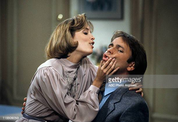 """The Happy Couple"""" - Airdate: October 9, 1984. MARY CADORETTE;JOHN RITTER"""