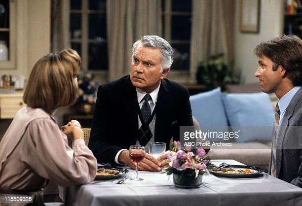 "The Happy Couple"" - Airdate: October 9, 1984. MARY CADORETTE;ROBERT MANDAN;JOHN RITTER"
