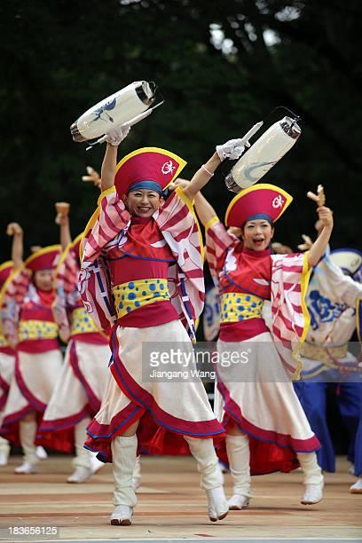 The Harajuku Omotesando Genki Matsuri festival brings the traditional yosakoi dance from its birthplace of Kochi City to Harajuku Omotesando, a...