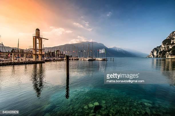 The Harbor, lake Garda.